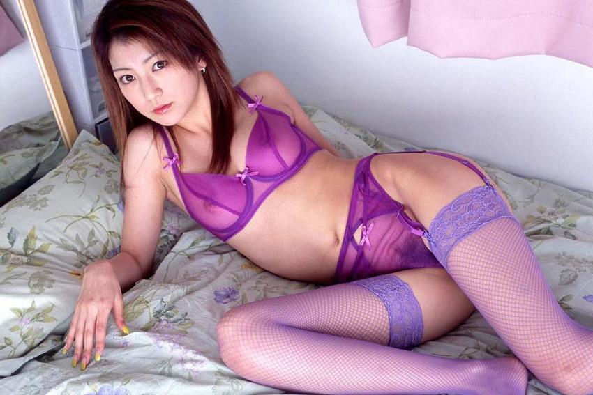 【シースルーエロ画像】スケスケの着衣!これじゃ全裸と大差ないだろ?www 32