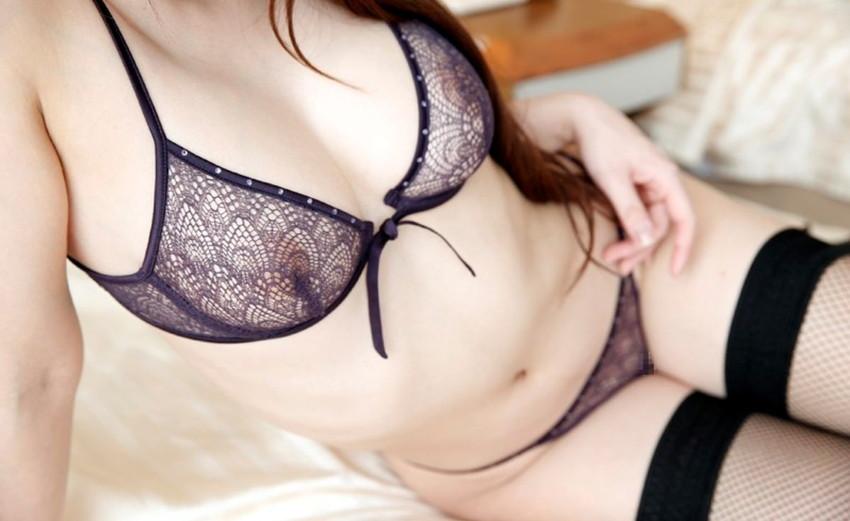 【シースルーエロ画像】スケスケの着衣!これじゃ全裸と大差ないだろ?www 52