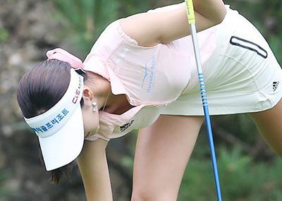 【※女子ゴルフ界の至宝】実はイ・ボミよりもすごかったアン・シネのロケットお○ぱいをご覧下さいwww反抗的ワロタwwwwww(画像あり)