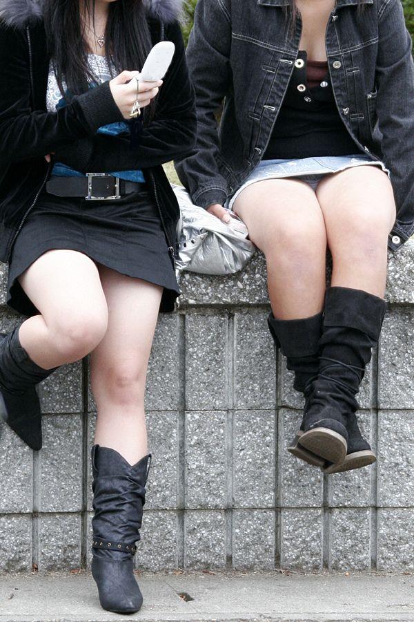 【街中エロ画像】街中で見つけたエロい女の子たちの画像集めてみたwww 47