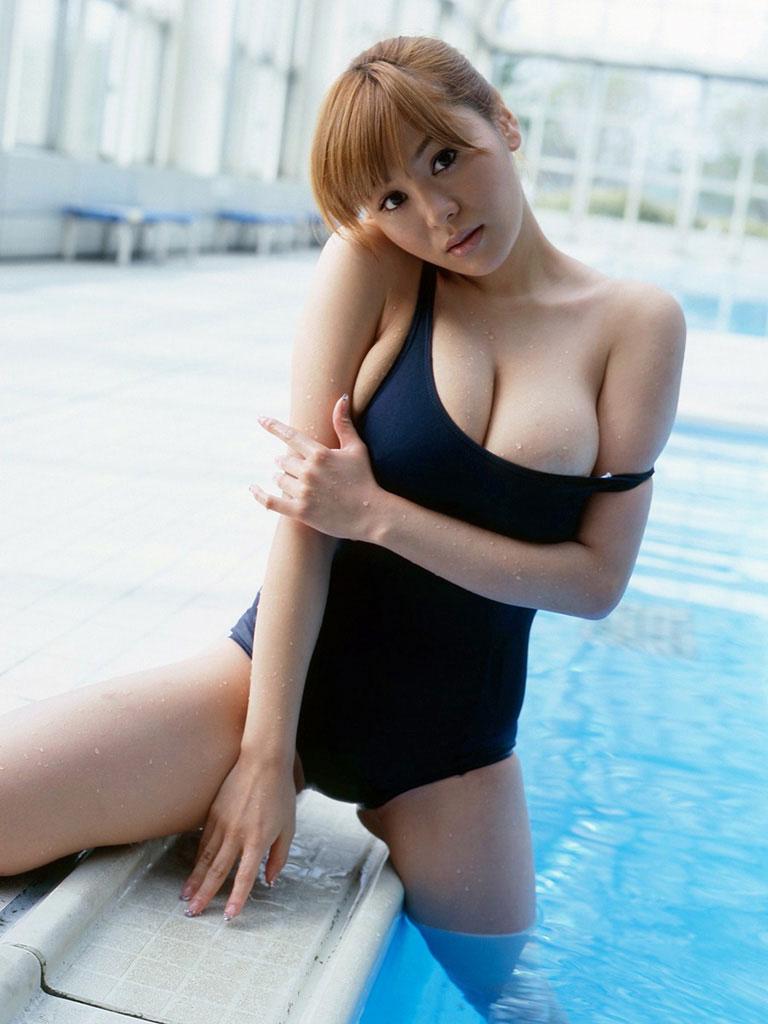 【スク水エロ画像】学生時代を彷彿させるスクール水着の女の子にムラムラw 13