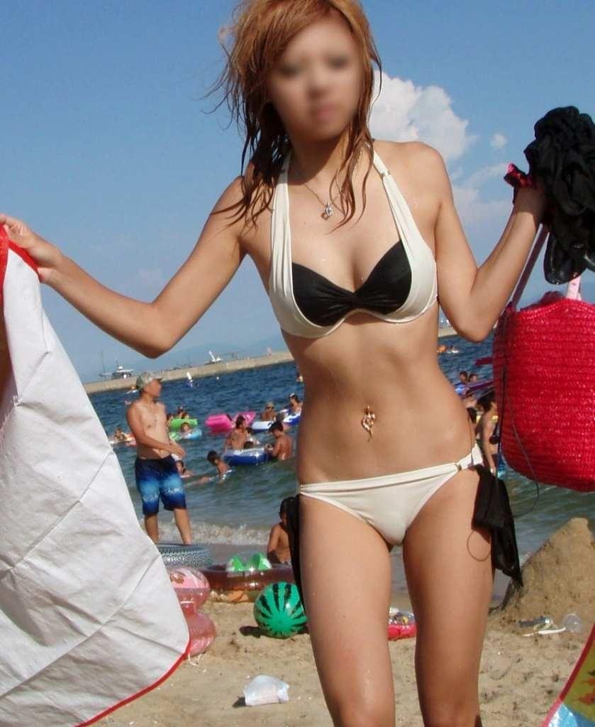 【素人水着エロ画像】素人臭漂う女の子たちの水着画像集めたったwww