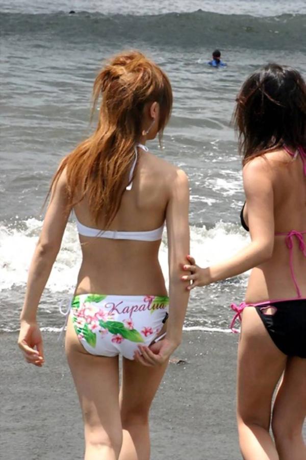 【素人水着エロ画像】素人臭漂う女の子たちの水着画像集めたったwww 17