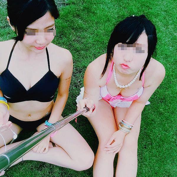 【素人水着エロ画像】素人臭漂う女の子たちの水着画像集めたったwww 34