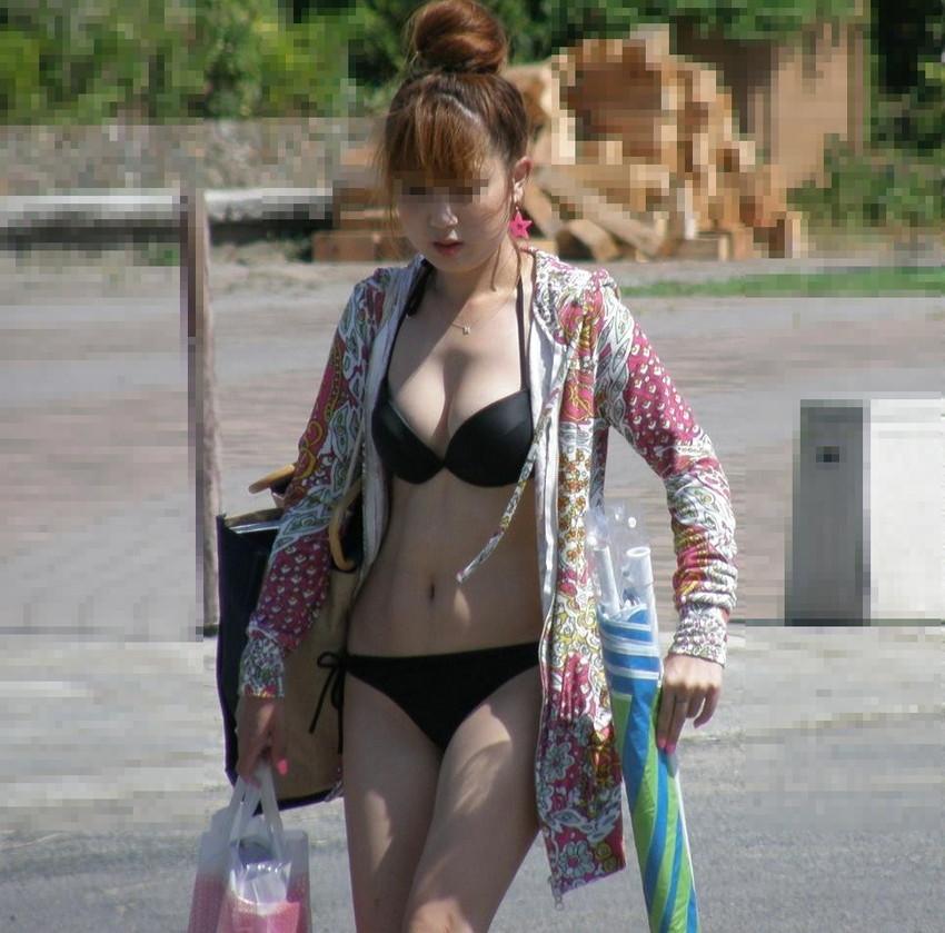 【素人水着エロ画像】素人臭漂う女の子たちの水着画像集めたったwww 40