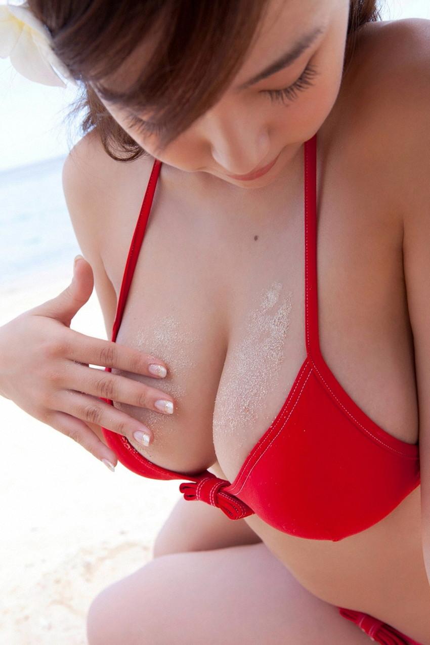 【水着エロ画像】夏!真っ盛り!期待するのはやっぱりコレだよな!? 50