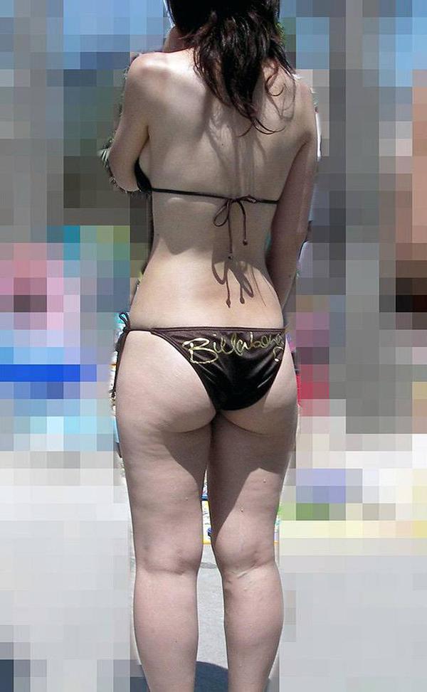 【素人水着エロ画像】夏といえば、やっぱり素人娘たちの水着だよな!?www 10