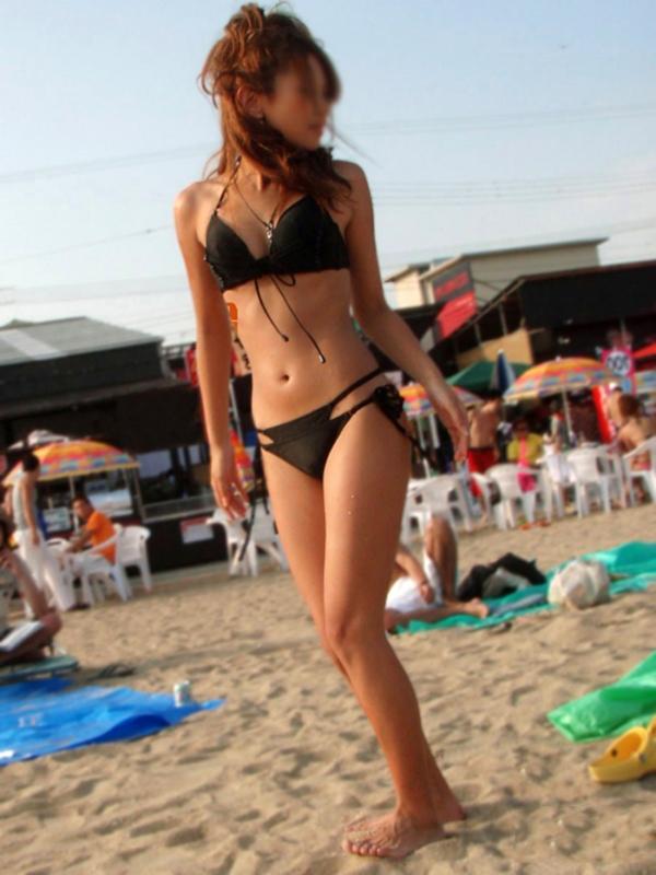 【素人水着エロ画像】夏といえば、やっぱり素人娘たちの水着だよな!?www 19