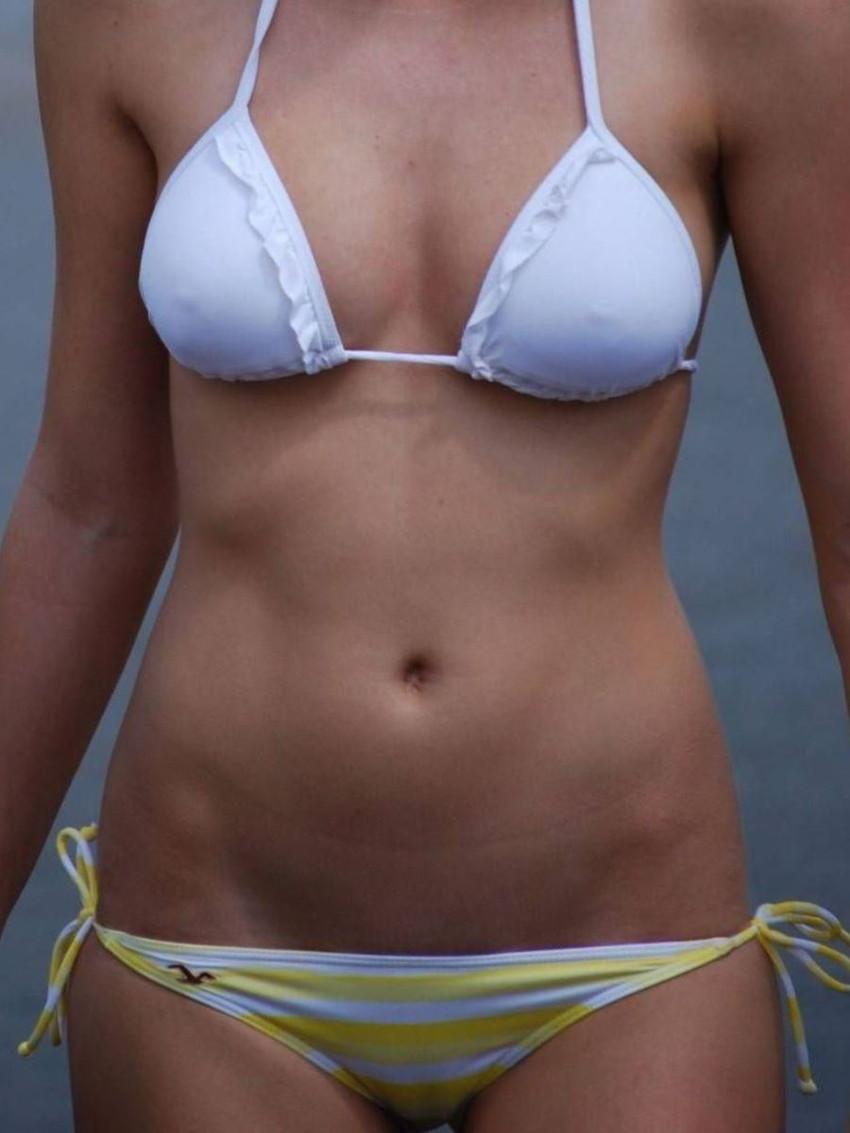 【素人水着エロ画像】夏といえば、やっぱり素人娘たちの水着だよな!?www 36