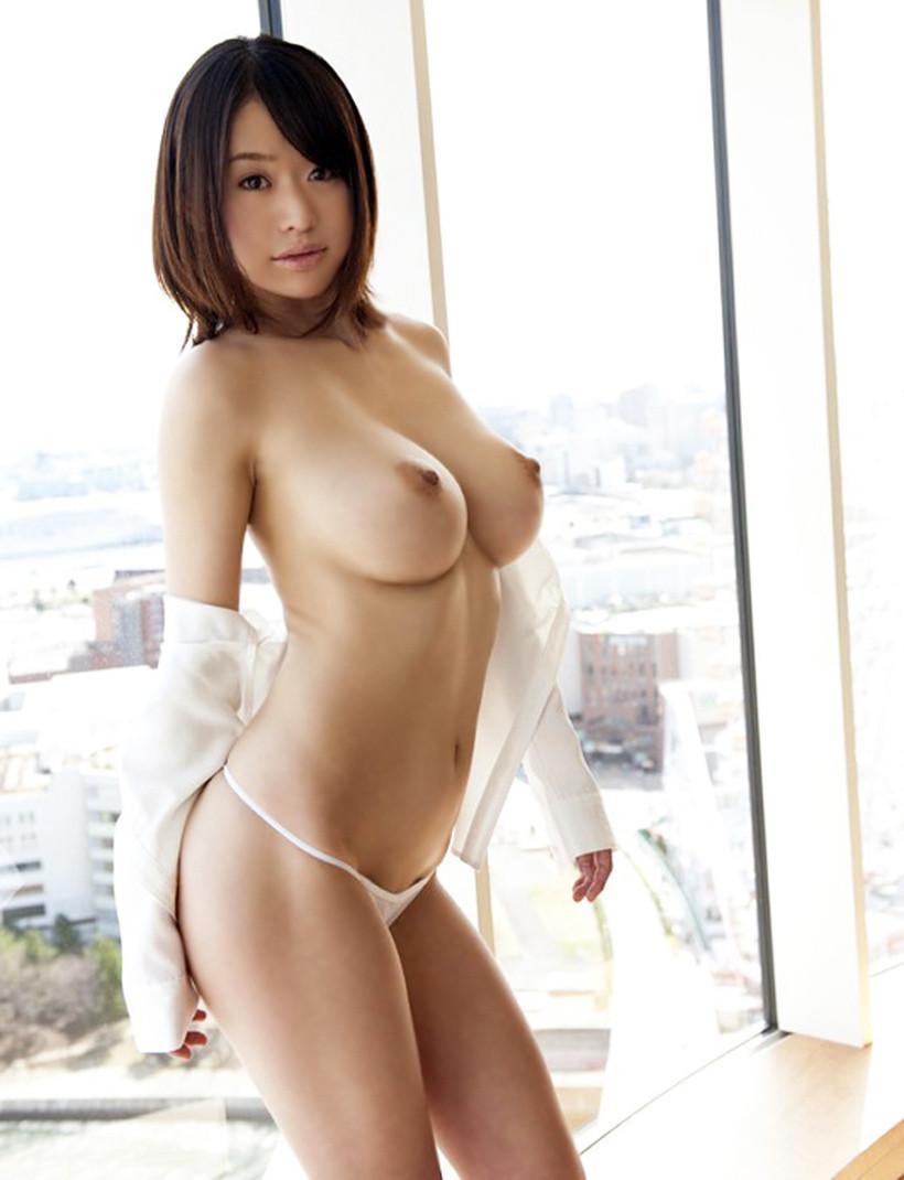 【美乳エロ画像】ワイ将、こんな美乳な彼女が欲しいと切に思う件wwwww 06