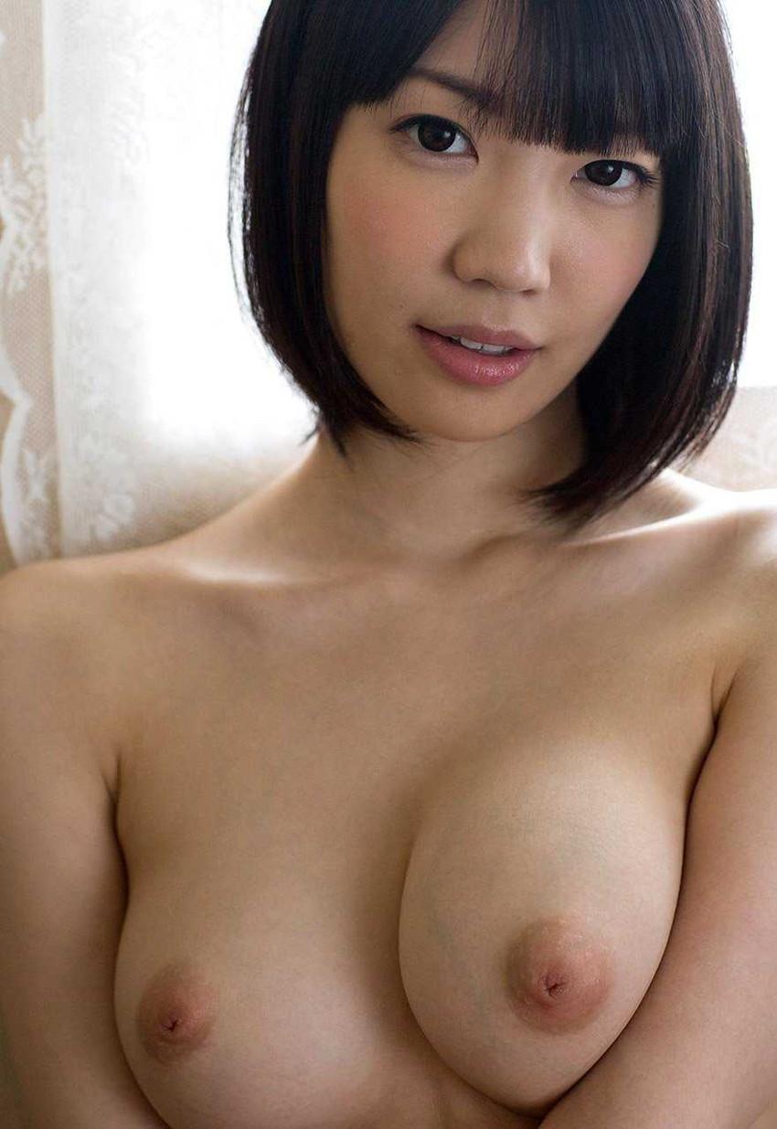 【美乳エロ画像】ワイ将、こんな美乳な彼女が欲しいと切に思う件wwwww 40