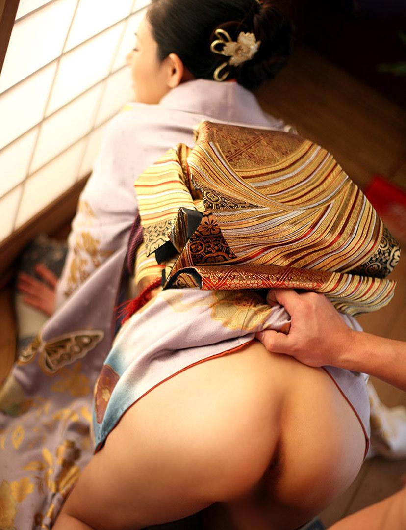 【和服エロ画像】和服姿の女の子たちにみる日本人ならではの艶姿wwww 25