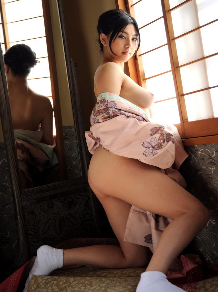 【和服エロ画像】和服姿の女の子たちにみる日本人ならではの艶姿wwww 33