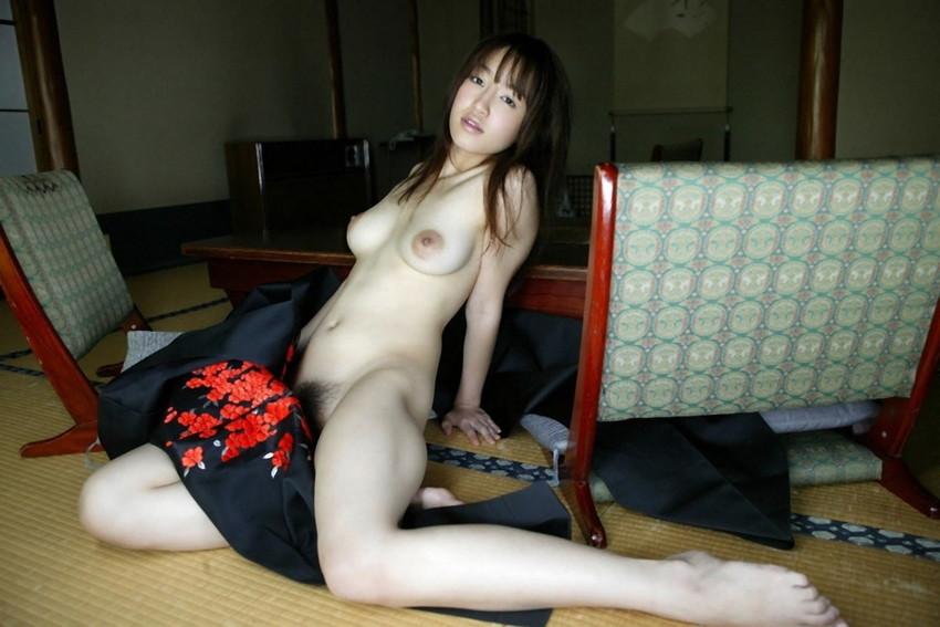 【和服エロ画像】和服姿の女の子たちにみる日本人ならではの艶姿wwww 46