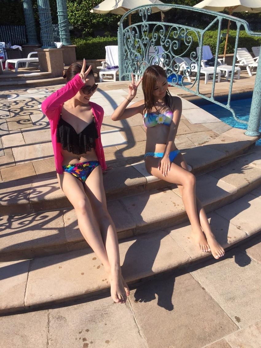 【素人水着エロ画像】素人娘たちの生々しい水着画像がめっちゃシコだなw 21
