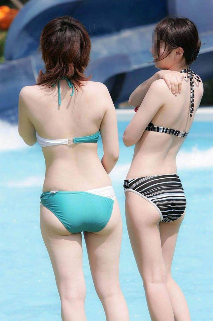 【素人水着エロ画像】素人娘たちの生々しい水着画像がめっちゃシコだなw 42