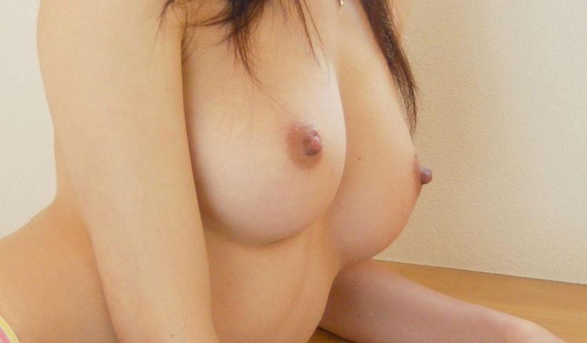 【美乳エロ画像】ワイ将!こんな美乳の彼女が欲しかった!美乳特集! 38
