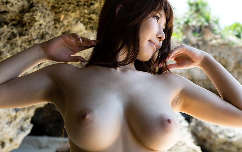 【美乳エロ画像】ワイ将!こんな美乳の彼女が欲しかった!美乳特集! 52