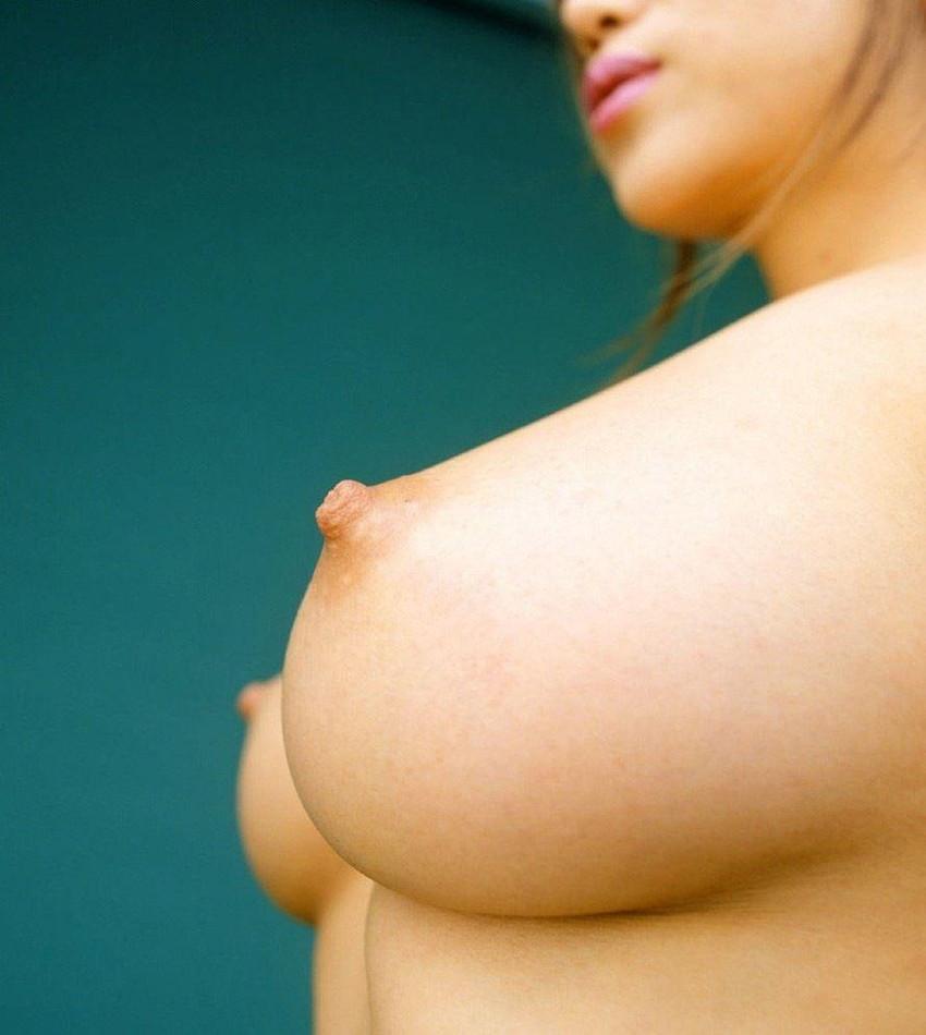 【美乳エロ画像】ワイ将!こんな美乳の彼女が欲しかった!美乳特集! 53