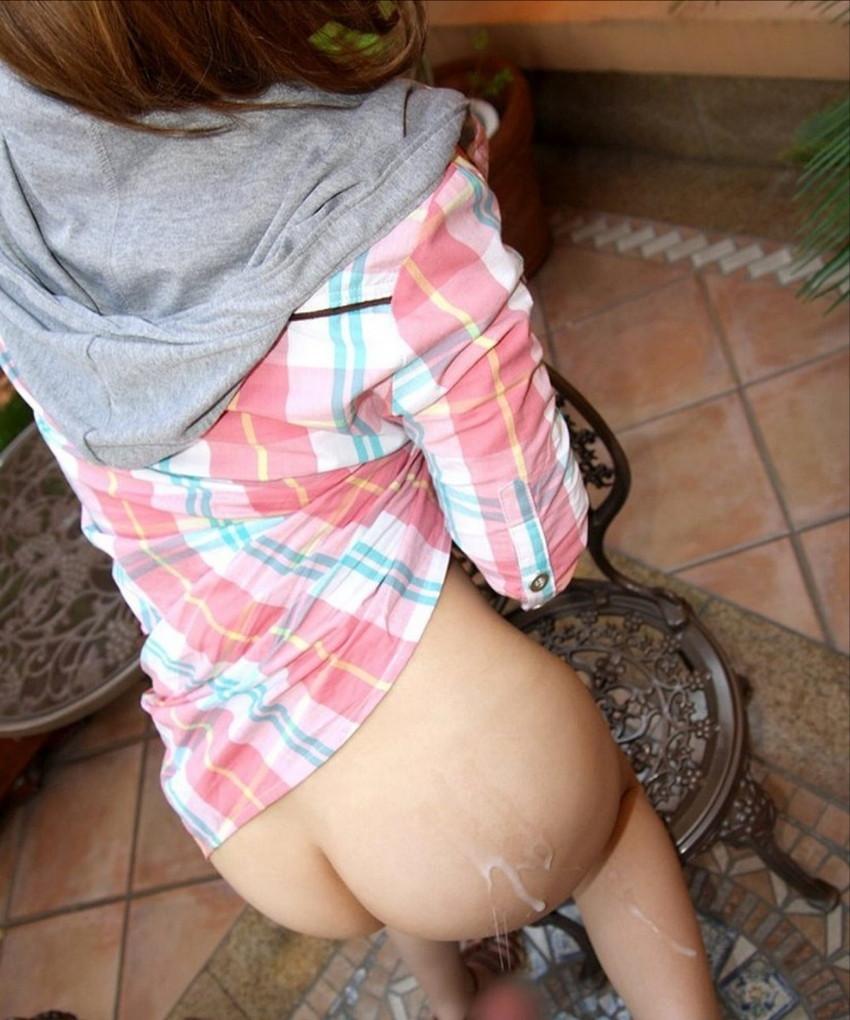 【射精エロ画像】セックスのフィニッシュは人それぞれ!ぶっかけられた女たち! 03