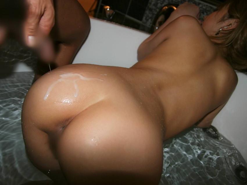 【射精エロ画像】セックスのフィニッシュは人それぞれ!ぶっかけられた女たち! 18