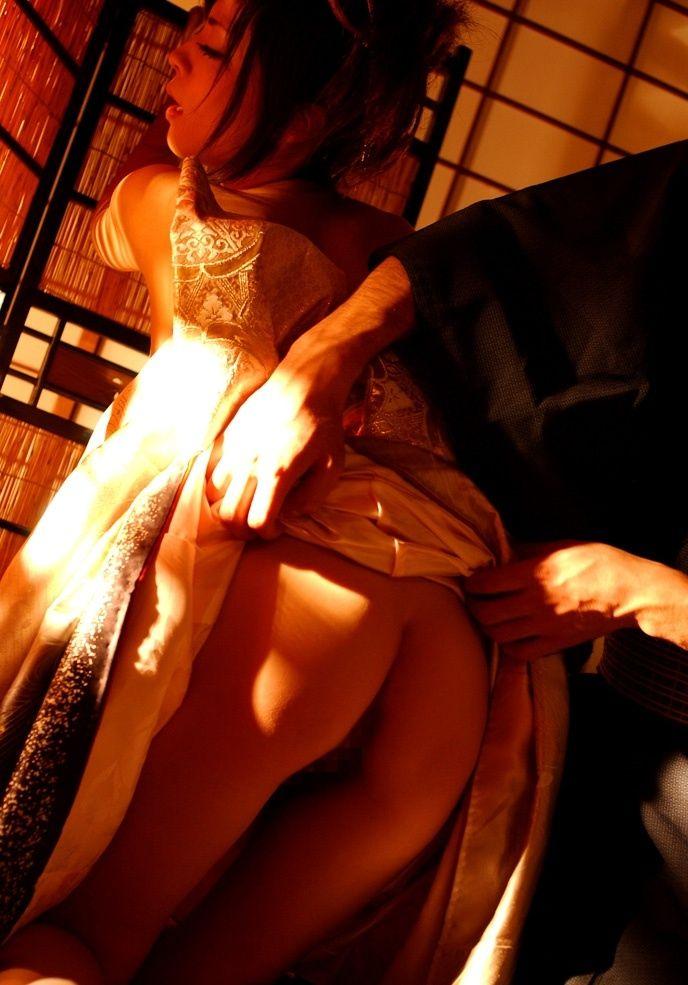 【和服エロ画像】和服姿の女の子にみるエロス!やっぱり日本人が最高! 08