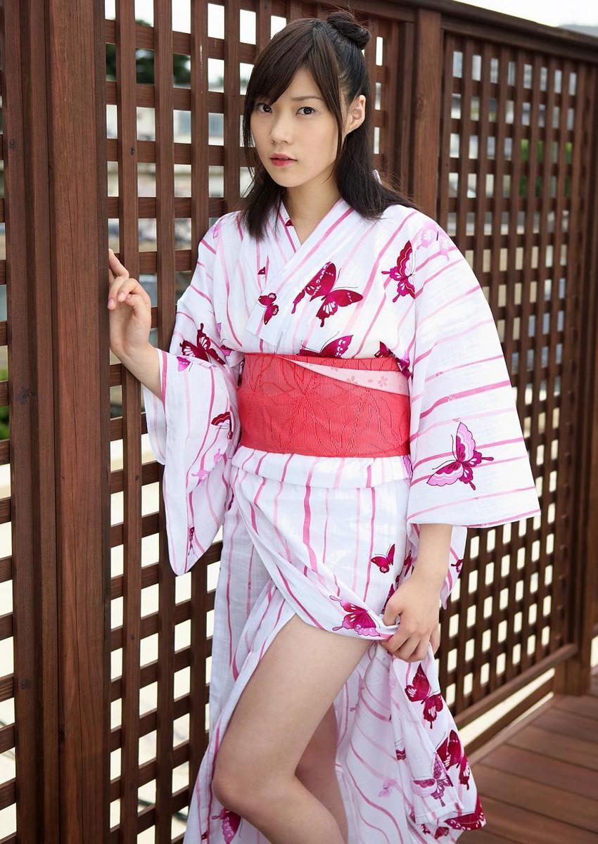 【和服エロ画像】和服姿の女の子にみるエロス!やっぱり日本人が最高! 09