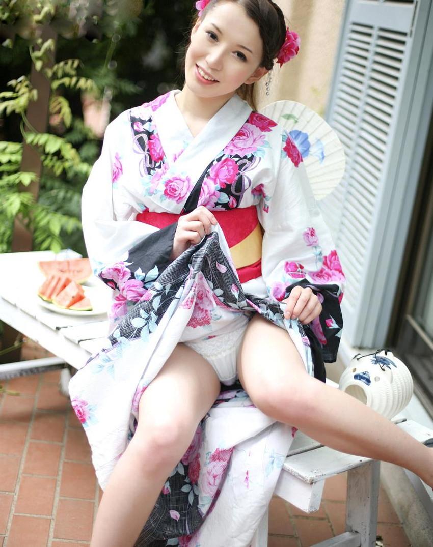 【和服エロ画像】和服姿の女の子にみるエロス!やっぱり日本人が最高! 54