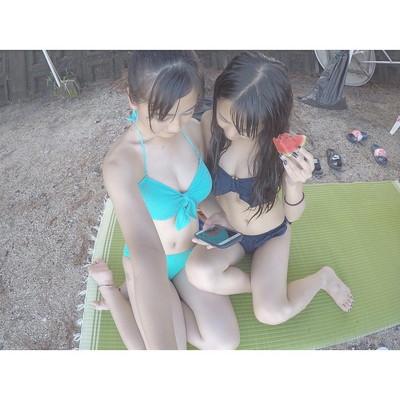 【素人水着エロ画像】素人の女の子たちの生々しい水着姿に勃起不可避!www 02
