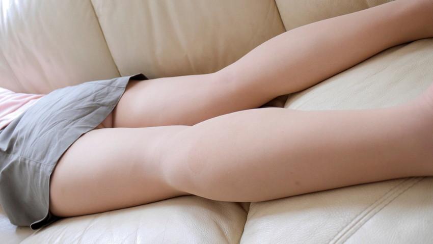 【美脚エロ画像】足フェチ必見!女の子のスラリと伸びた脚線美にノックダウン! 30