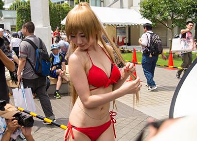 【コミケエロ画像】素人のコスプレ娘たちが集う!露出過多!こんなイベント神すぎるw