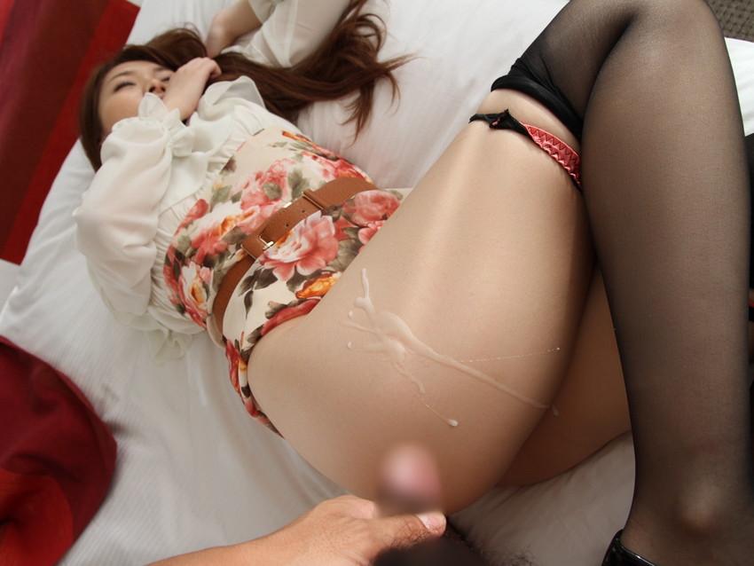 【射精エロ画像】女の子の体の好きなところにザーメンぶっかけたったww 52