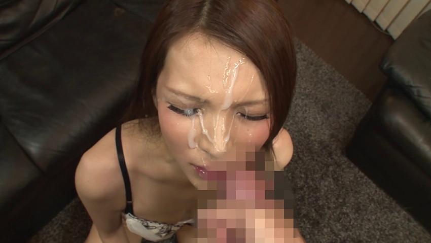 【顔射エロ画像】顔射好きな男とセックスした女の末路がこちらwwww 27