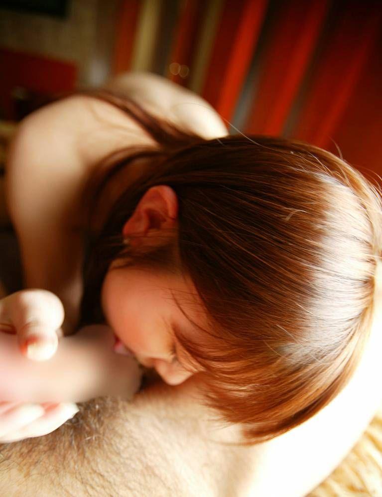 【フェラチオエロ画像】女の子からの誠心誠意のご奉仕!フェラチオって最高! 31