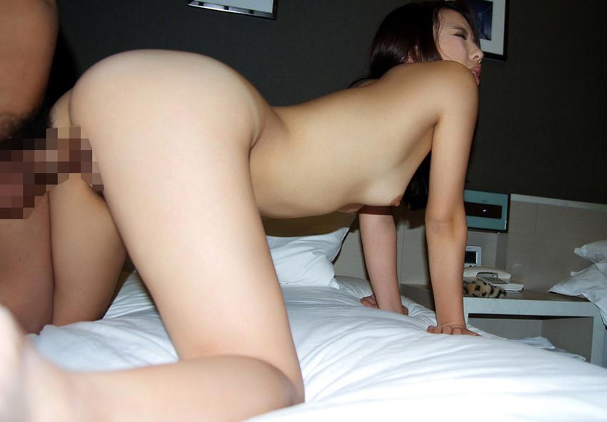 【バックエロ画像】後背位という体位、つまり、バックでセックスする男女ww 24