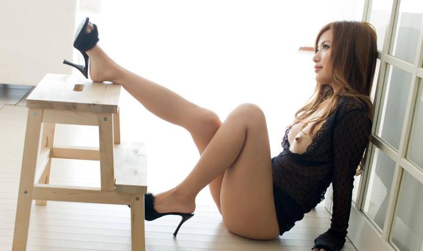【美脚エロ画像】この脚線美を理解できるか!?美脚フェチ必見のエロ画像! 50