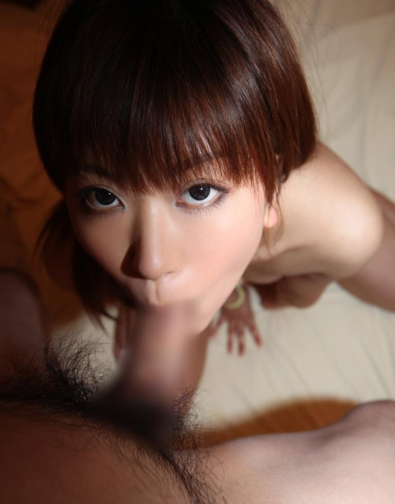 【全裸フェラチオエロ画像】全裸でチンポにしゃぶりつくフェラ好き女子! 48
