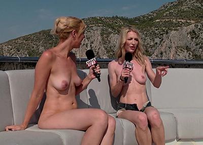 【※朗報】女子アナが全裸でニュースを伝える海外の番組エッッロwwwwwwwwwwwwwwwwwwwww(画像あり)