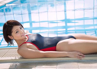 【競泳水着エロ画像】競泳水着といえどもこうして見るとビキニよりもエロいんじゃないか?