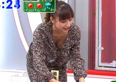 【TVキャプ】胸元が無防備すぎる女子アナたち・・・(画像26枚)