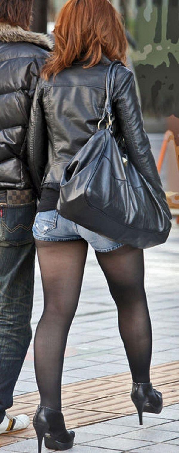 【素人ホットパンツエロ画像】暖かくなると見かける太ももムキだしファッション! 20