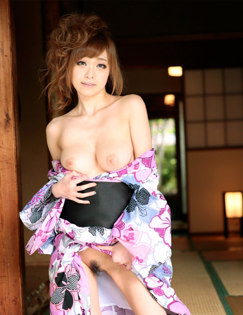 【和服エロ画像】乱れた着物も良いけど和服姿の女の子ってそれだけでソソるよな!? 55