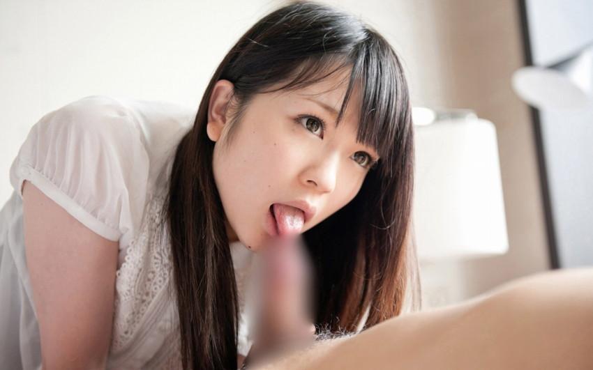 【着衣フェラチオエロ画像】オシャレな女の子が大好きなワイ、着衣のままフェラさせたったww 10