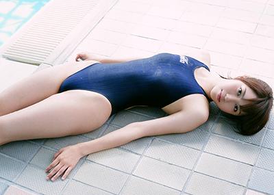 【競泳水着エロ画像】競泳水着っていうけど、これってビキニよりエロい水着なのでは?w