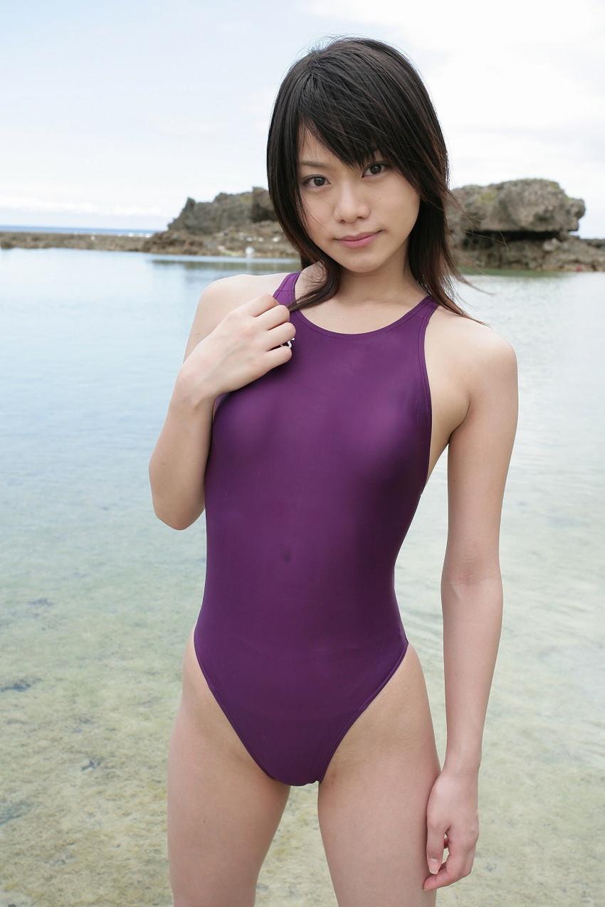 【競泳水着エロ画像】ワイ、勘違いしてた!競泳水着ってもっと地味で色気のないものだと思ってた! 39