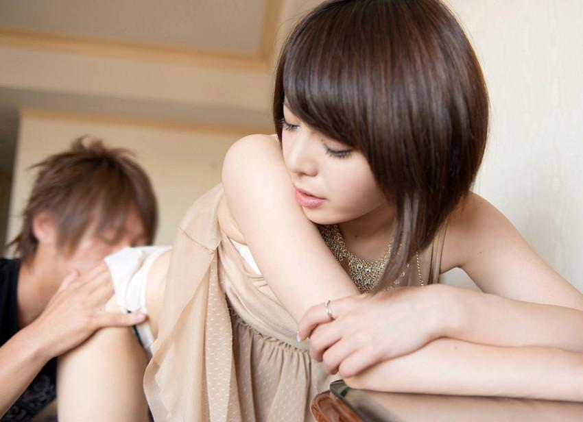 【クンニリングスエロ画像】女の子のオマンコを舐めまくりのクンニリングス! 34