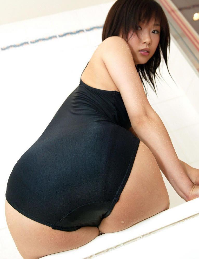 【スク水エロ画像】マニアツクなスク水姿の女の子!これもコスプレの一種だよなww 22
