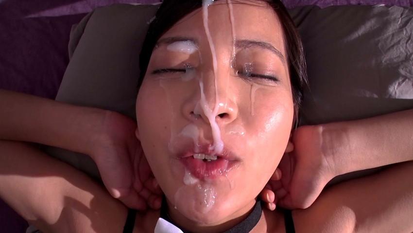 【顔射エロ画像】女の子の顔に男の欲望の汁をぶっかけて征服感を満たす顔射! 15