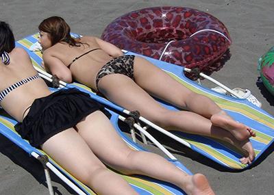【素人水着エロ画像】素人娘たちの生々しい水着姿にハァハァしてしまうエロ画像ww