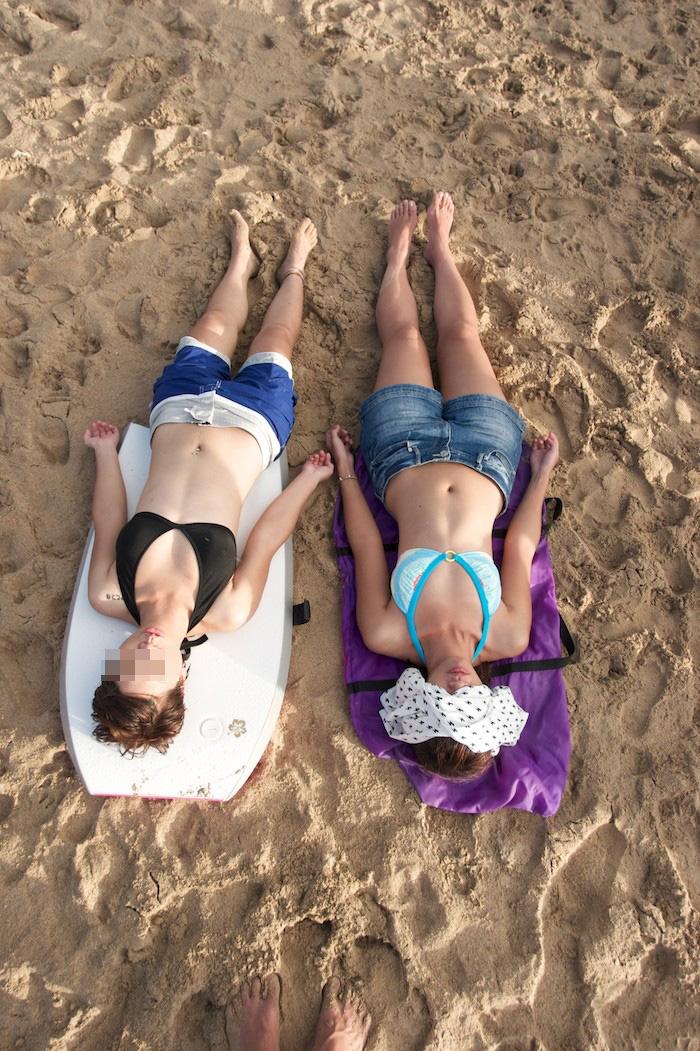 【素人水着エロ画像】素人娘たちの生々しい水着姿にハァハァしてしまうエロ画像ww 23